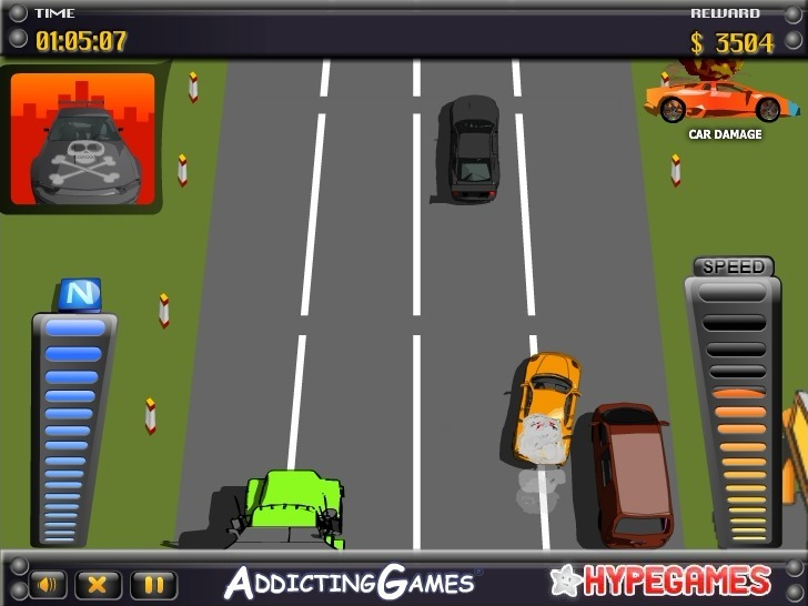 Highway Madness Full Screen