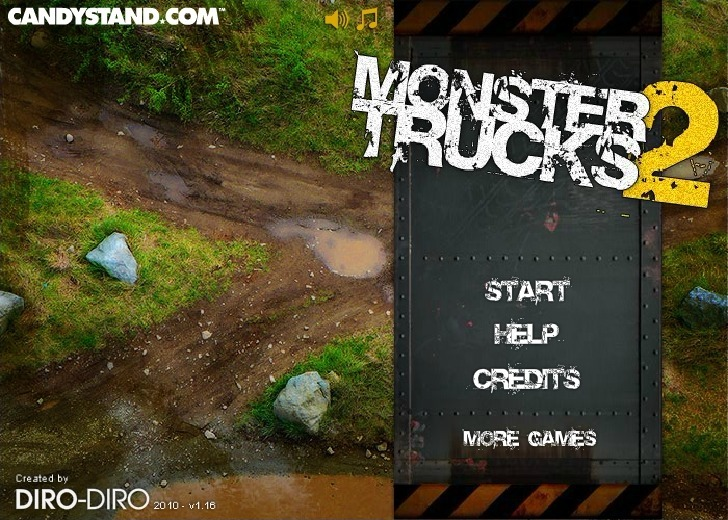 Play Monster Trucks 2 Game Full Screen