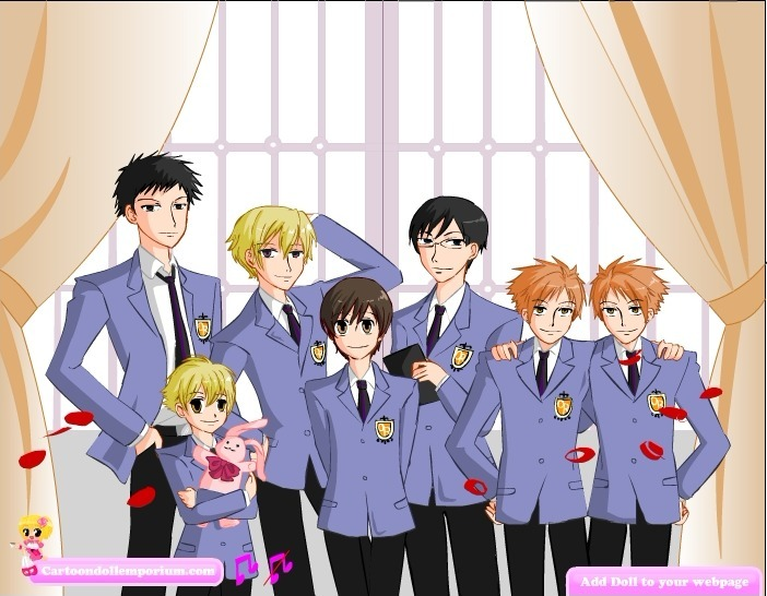 Play Ouran Game Full Screen