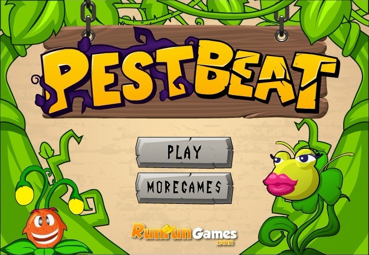 Play Pest Beat Game Full Screen