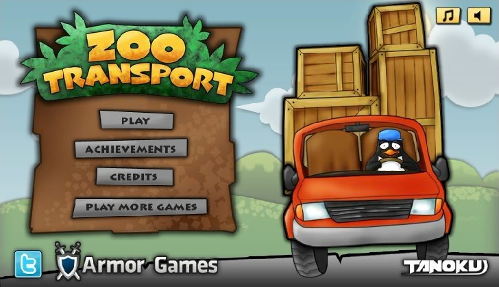 Play Zoo Transport Game Full Screen