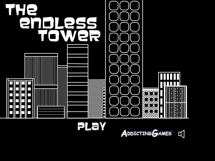 Play The Endless Tower Game Full Screen