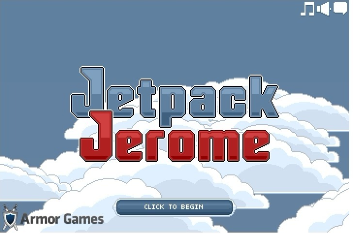 Play Jetpack Jerome Game Full Screen
