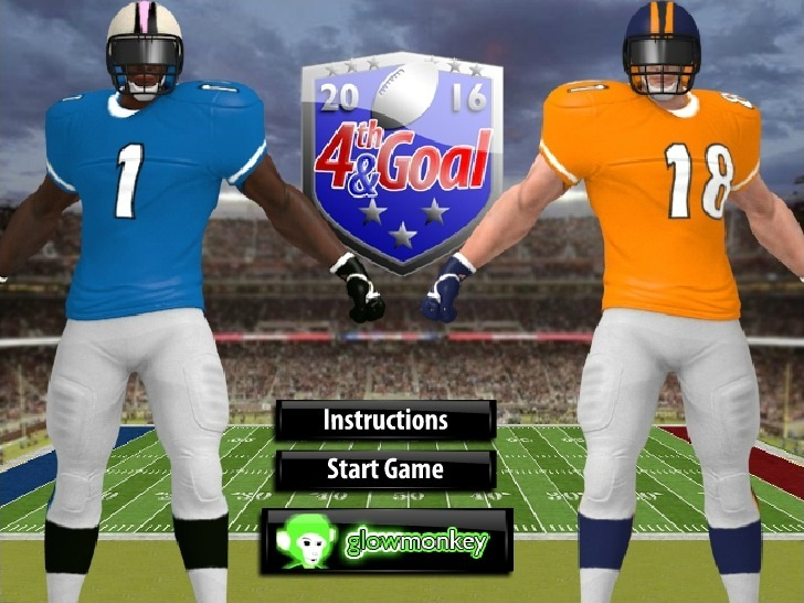 Play Touchdown Game Full Screen