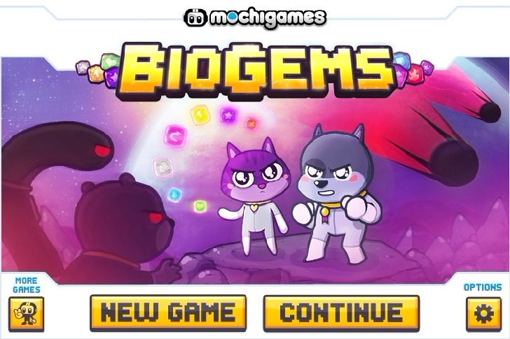 Play BioGems Game Full Screen