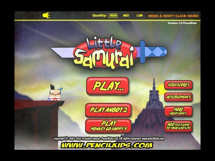 Play Little Samurai Game Full Screen