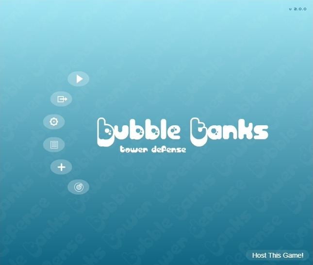 Play Bubble Tanks Tower Defense Game Full Screen