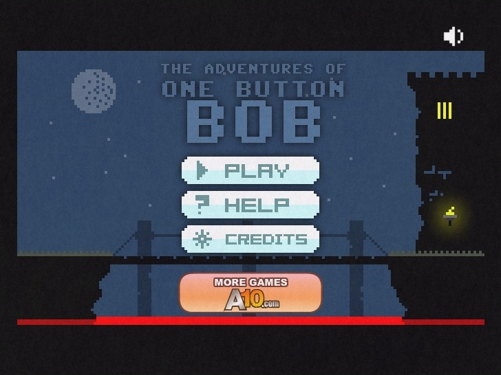 Play One Button Bob Game Full Screen