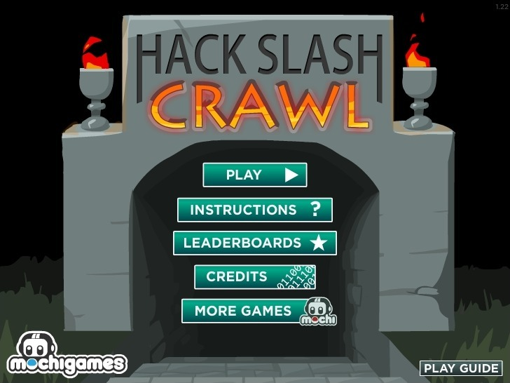 Play Hack Slash Crawl Game Full Screen