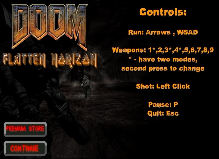 Play Doom: Flatten Horizon