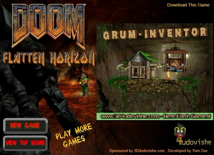 Play Doom: Flatten Horizon Game Full Screen