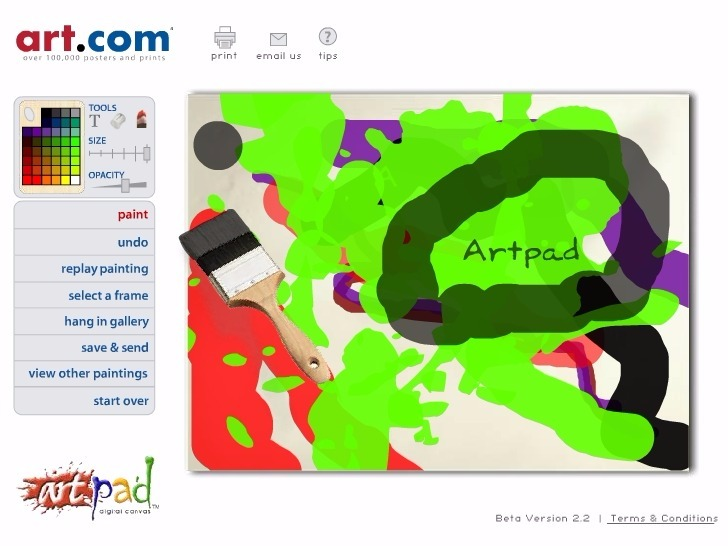 Play ArtPad Game Full Screen