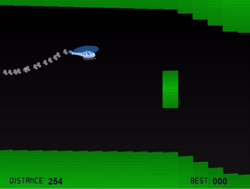 Helicopter Game Full Screen