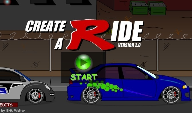 Create a Ride: Version 2